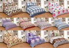 3Pcs Floral Queen King Size 100% Polyester Bedspread Quilt Coverlet Ensemble NEW