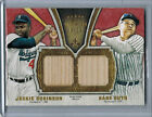2012 Topps Five Star Dual Relics JACKIE ROBINSON BABE RUTH Bat #09 10 (1279)