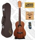 Oscar Schmidt OU26T 6 String Tenor Ukulele Mahogany Body Satin Finish Incl