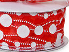 Red White Polka Dots Wired 2