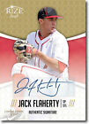 JACK FLAHERTY 2014 Rize Draft *GOLD* Certified AUTOGRAPH RC - Only 200 Made!