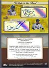 DARRYL STRAWBERRY DWIGHT GOODEN 2011 TOPPS TRIBUTE 2X GOLD AUTO #5 25 NY METS