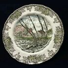 BRAND NEW IN BOX The Friendly Village Johnson Brothers Salad Plates Set of 4