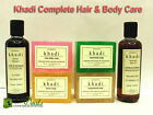 Khadi Body + Hair Care Combo- HAIR OIL + 8 SOAP + Shampoo with no SLS