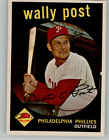 1959 Topps #398 Wally Post - NM-MT