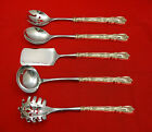 Lady Windsor aka Victoria New by Wallace Sterling Hostess Set 5pc HHWS  Custom