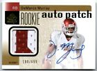 DeMARCO MURRAY 2011 UD SP AUTHENTIC ROOKIE RC AUTO AUTOGRAPH PATCH CARD #188 699