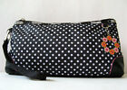 LESPORTSAC BAG EXTRA LARGE CLUTCH WRISTLET POLKA DOT BAG *EXCELLENT* OC MODEL