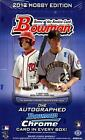 2012 BOWMAN Sealed Hobby Box Baseball BRYCE HARPER BILLY HAMILTON Auto RC Chrome