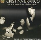 Cristina Branco - Cristina Branco Live In Amsterdam Netherlands [CD New]