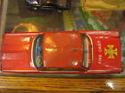 1950's Ford Japan Tin Friction Fire Chief car made by The Linemar(?) Co.