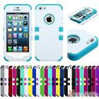 Protective TUFF Hybrid Case Cover For APPLE iPhone 5/5S, 3-Layer Protection