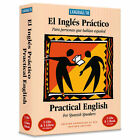 El Ingles Practico English for Spanish Speakers 2CDs Book NEW IN BOX