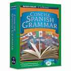 Concise Spanish Grammar CD Book by Audio Forum Exclusives NEW IN BOX