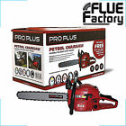 ProPlus 16in Petrol Chainsaw 45cc for Log / Woodburning Stoves - 253-ZHZ049213