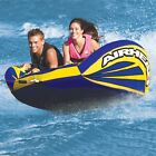 Airhead Matrix V 2 Flat Inflatable Water Tube 2 Rider Boat Tow Towable AHMX V2