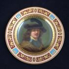 Antique Royal Vienna Rembrandt Hand Painted 9.5