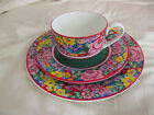 KENZO PARIS CUP, SAUCER AND PLATE  PRODUCE BY AITO JAPAN