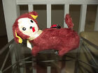 Vintage Itchy Pup Bothered by a Lady Bug Wind Up Toy Made in Japan