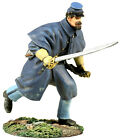 William Britain 31154 Union Infantry In Overcoat Officer Charging No 1 Civil War