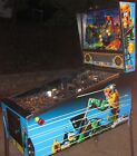 1993 Bally Judge Dredd pinball machine Widebody Superpin Signed by John Trudeau