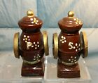 Vintage Coffee Grinders Salt & Pepper Shakers JAPAN 4.5
