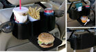 Back Seat Organizer Storage Drink Food Tray Car Truck SUV Travl Kids Cup Holder