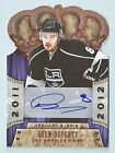 DREW DOUGHTY 2011 12 CROWN ROYALE PREMIERE DATE AUTOGRAPH # 3 99 FIRST 5 SIGNED