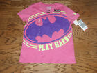 Girl's Pink & Purple Under Armour Batman PLAY HARD Top Size Youth Large NEW!