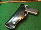 BUCHEIMER LEATHER HOLSTER  B845 3 4 COLT AUTOS S  W 4006 VINTAGE CLAMSHELL