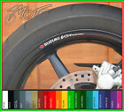 8 x SUZUKI V STROM Wheel Rim Stickers Decals - vstrom v-strom dl 650 1000
