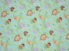 JUNGLE BABIES fabric PATTY REED ALLOVER JUNGLE BABIES cotton fabric 1 YD 25