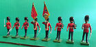 BRITAINS 8 MAN COLOUR GUARD
