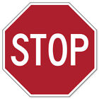STOP Road Sign sticker decal 4