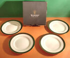 Waterford Ashworth Bread & Butter or Tidbit Party Plates SET/4 Made/UK New Boxed