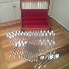 Edwards International Spring Garden Silverplate Flatware 58 Pieces