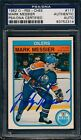 1982 83 O-Pee-Chee #117 Mark Messier PSA DNA Certified Authentic Auto *2314
