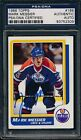 1986 87 Topps #186 Mark Messier PSA DNA Certified Authentic Auto Signed *2309