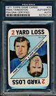 1971 Topps Game Cards #35 Fran Tarkenton PSA DNA Certified Authentic Auto *3126