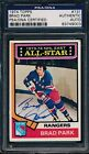 1974 75 Topps #131 Brad Park PSA DNA Certified Authentic Auto Signed *9003
