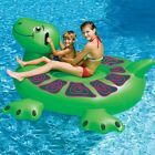 Swimline 90622 Kids Inflatable Giant Rideable Swimming Pool Turtle Float Toy 74