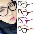 Sexy Retro Women Eyeglasses Frame Fashion Cat Eye Clear Lens ladies Eye Glasses