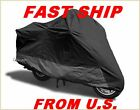 BMW R1200C Classic Bike ALL BLAK Motorcycle Cover QC X2