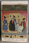 Antique Persian Ottoman Muslim Art Painting Illuminated Manuscript parchment