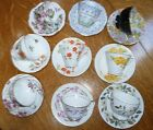 LOT OF 9 Vintage Bone China Made In England Tea Cups And Saucers