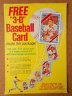 1972 Kellogg's Cereal Box Panel Tony Oliva Joe Torre Mickey Lolich Rick Wise