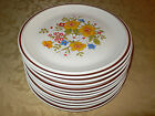 HEARTHSIDE STONEWARE 10 DINNER PLATES BORDEAUX CASUAL ELEGANCE EXCELLENT!