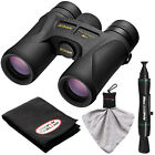Nikon Prostaff 7S 10x42 ATB Waterproof Fogproof Binoculars w Case +Cleaning Kit