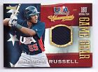 2013 USA Champions Baseball GAME GEAR Addison Russell CHICAGO CUBS USA JERSEY