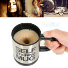 Auto Mixing Tea Cup Stainless Plain Lazy Self Stirring Mug Coffee Soup Xmas Gift